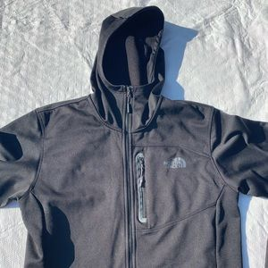 North face hooded men's jacket